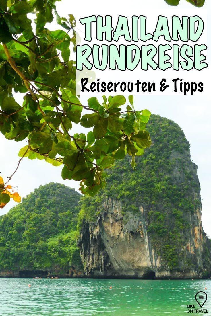 Thailand Rundreise - Routen, Zeiträume und Tipps! #reisetipps #südostasien #asien #thailand #reiseblog #blog #likeontravel