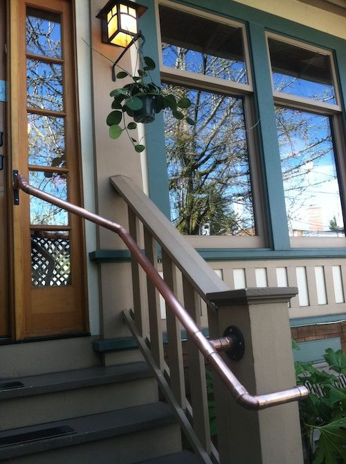 Best Handrail Built Of Copper Piping The Vital Energy Center 400 x 300
