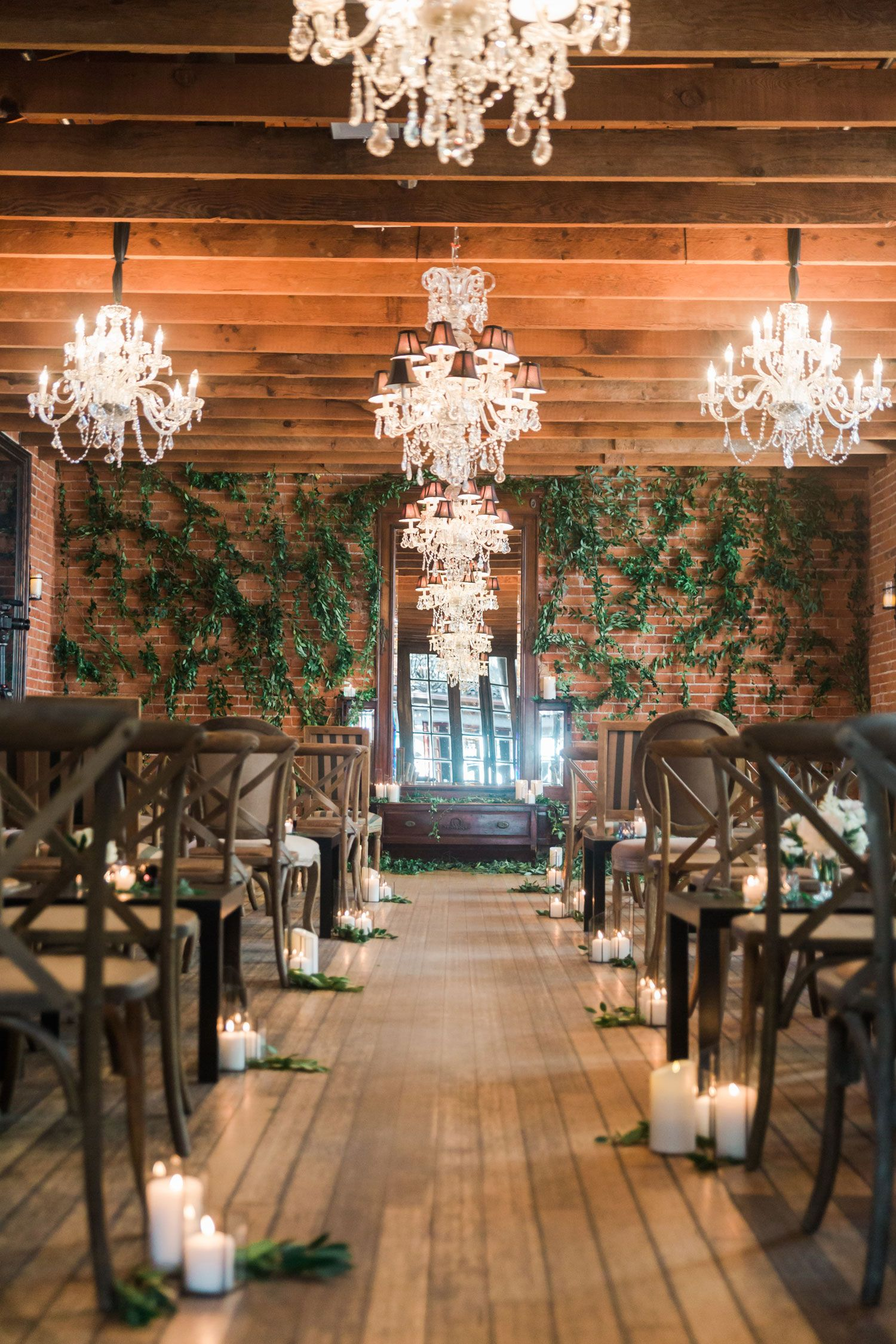 Real Wedding with Rustic Organic Ambience in