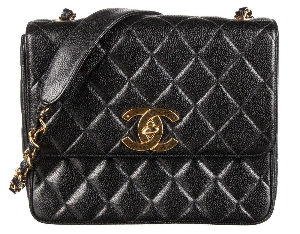 5f05108c7076 Vintage CHANEL Black Caviar Quilted Mini Square Flap Bag #fashion #clothing  #shoes #accessories #womensbagshandbags (ebay link)