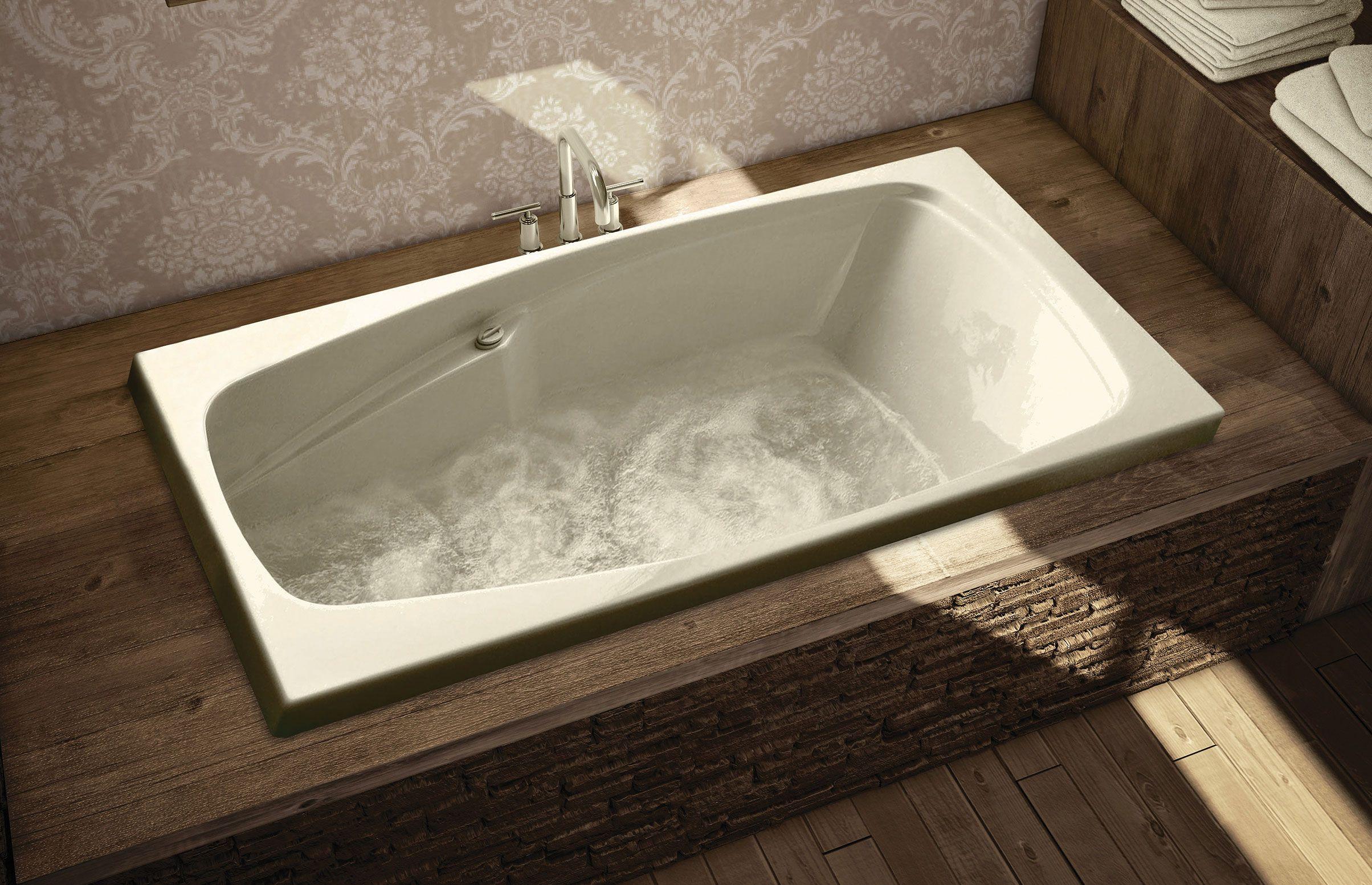 SIMPLICITE Alcove or Drop-in bathtub - MAAX Professional | Bathroom ...