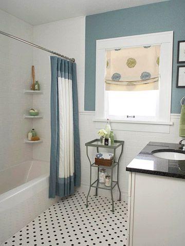 Fresh Ideas for Bathroom Floors Small bathroom, Foundation and Bath