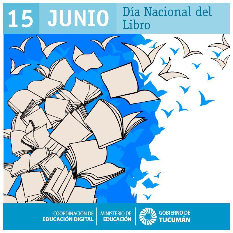 """TENEMOS UN DÍA NACIONAL DEL LIBRO 📖❤️  Comenzó en Argentina el 15 de junio de 1908 como """"Fiesta del Libro"""". Ese día se entregaron los premios de un concurso literario organizado por el Consejo Nacional de Mujeres. En 1941, una resolución Ministerial propuso llamar a la conmemoración """"Día del Libro"""", expresión que se mantiene."""