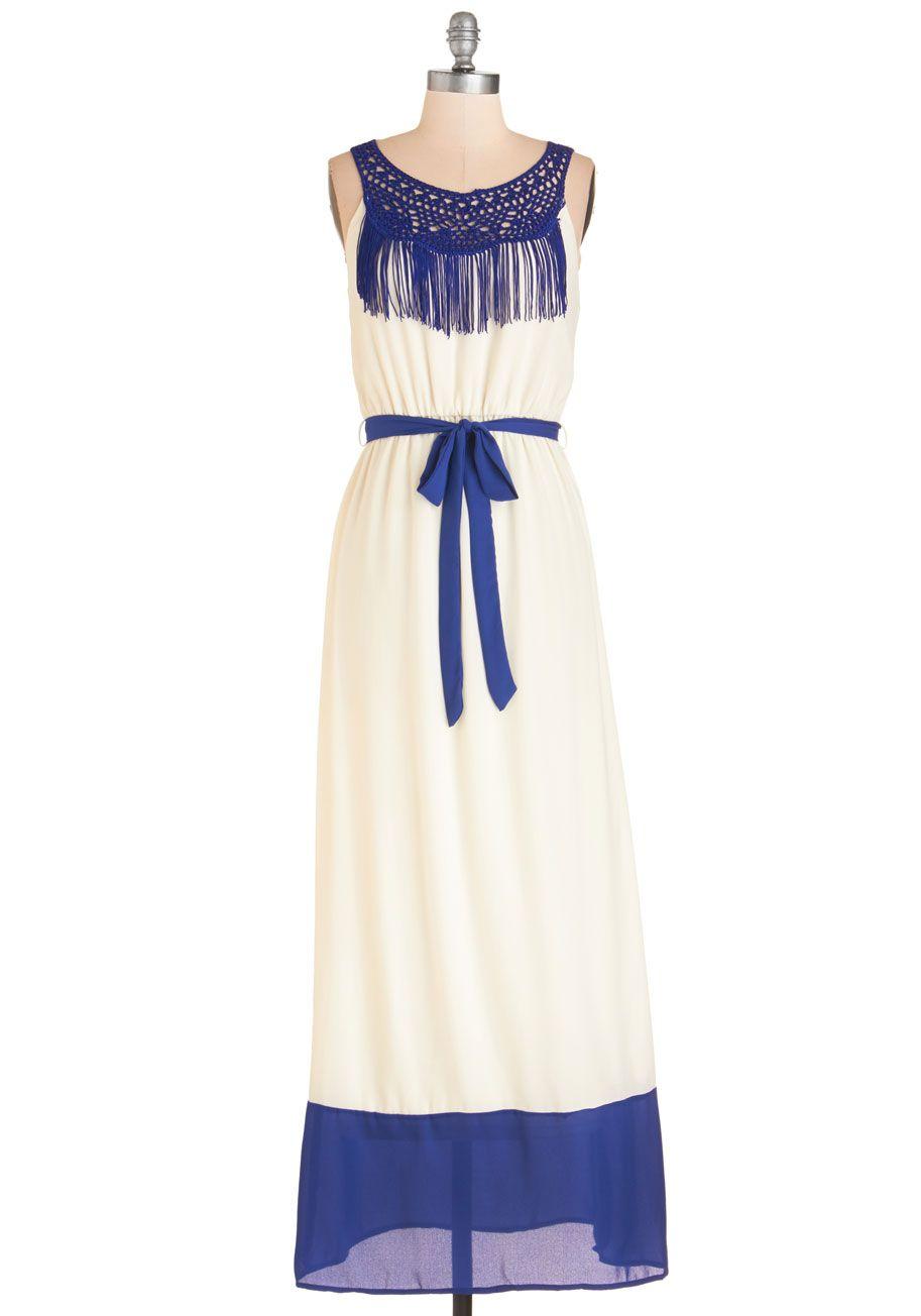 Daytime Celebration Cotton Dress #cobaltdress