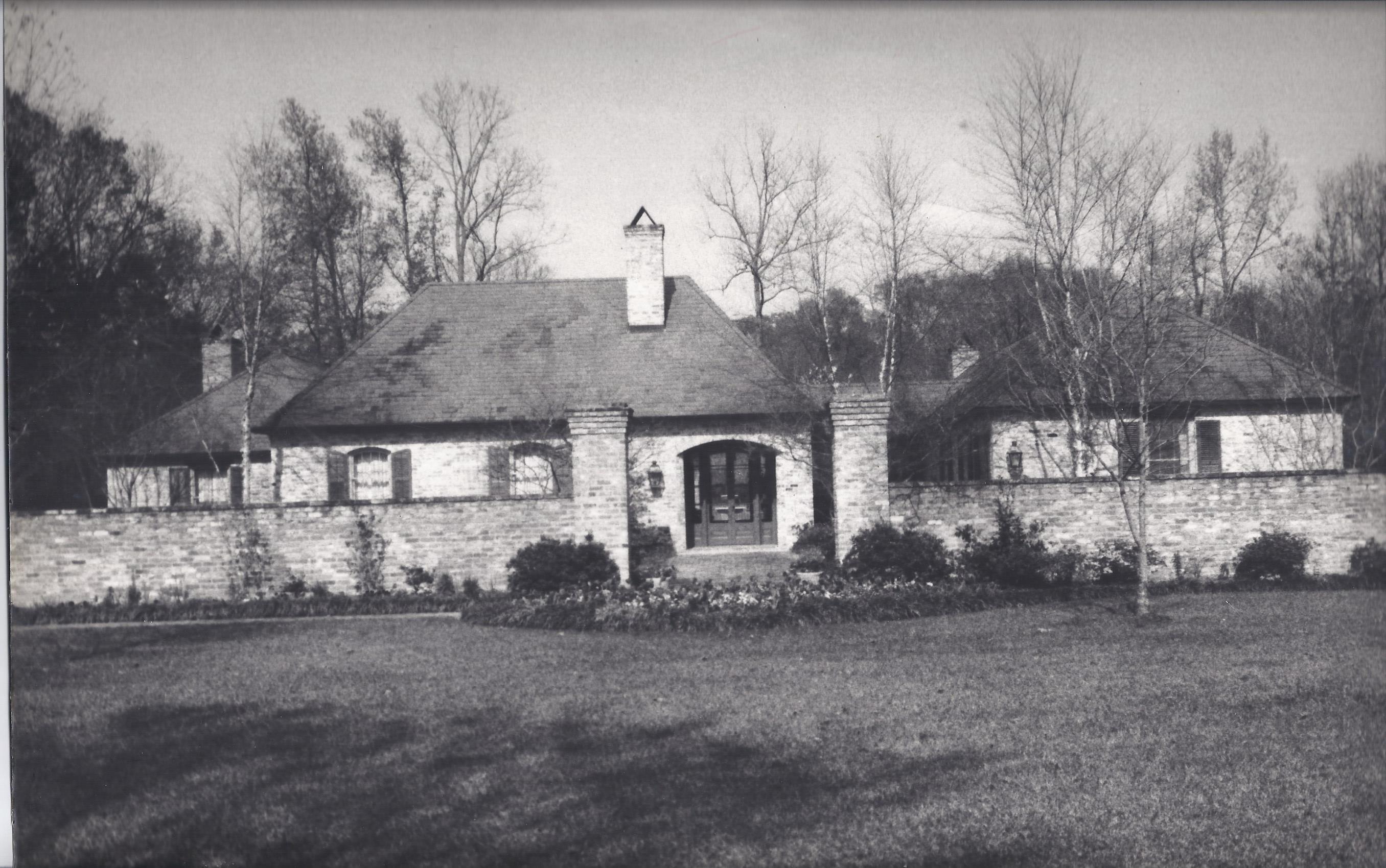 John Boyce Home. Baton Rouge, LA A Hays Town, Architect