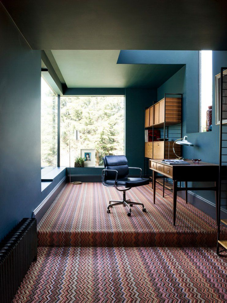 Mid Century Modern Home Office Designs