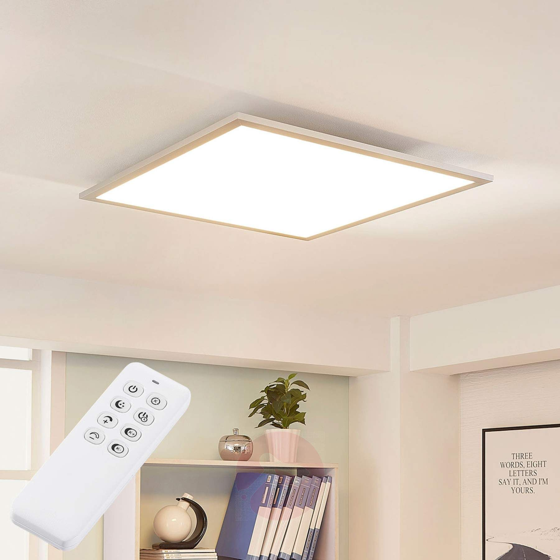 dimmbares ledpanel lysander warmweiß tageslicht  led