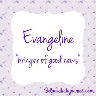 Beloved Baby Names: Ways to Get to Evie | Girl names, Baby ...