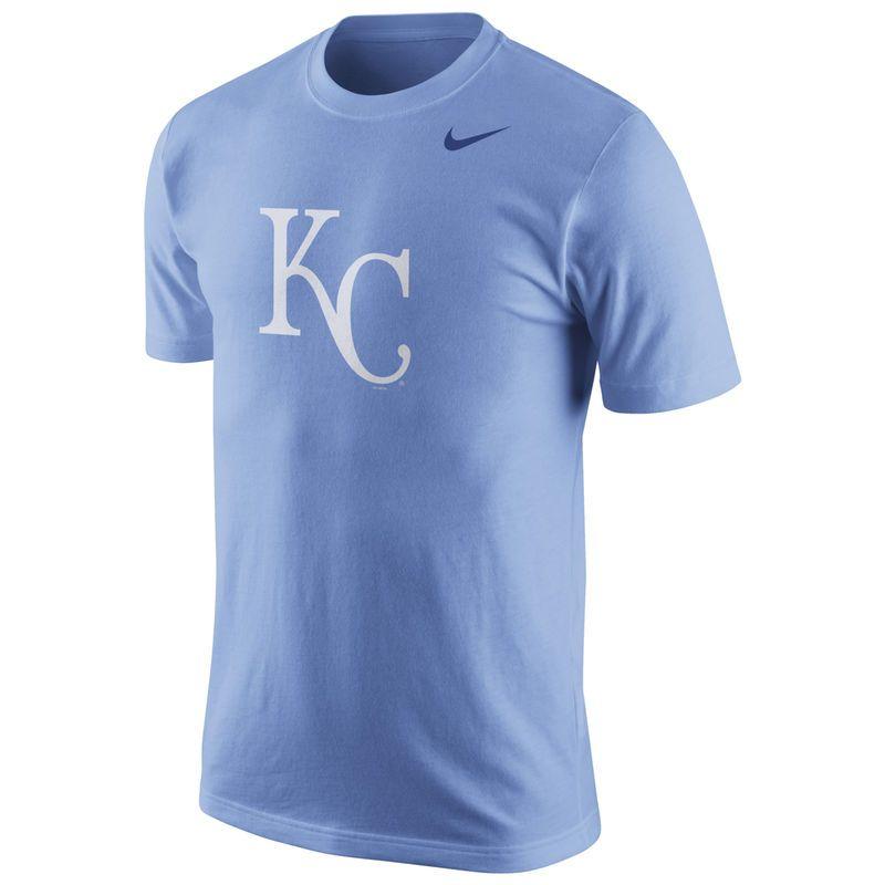 Kansas City Royals Nike Logo T-Shirt - Light Blue