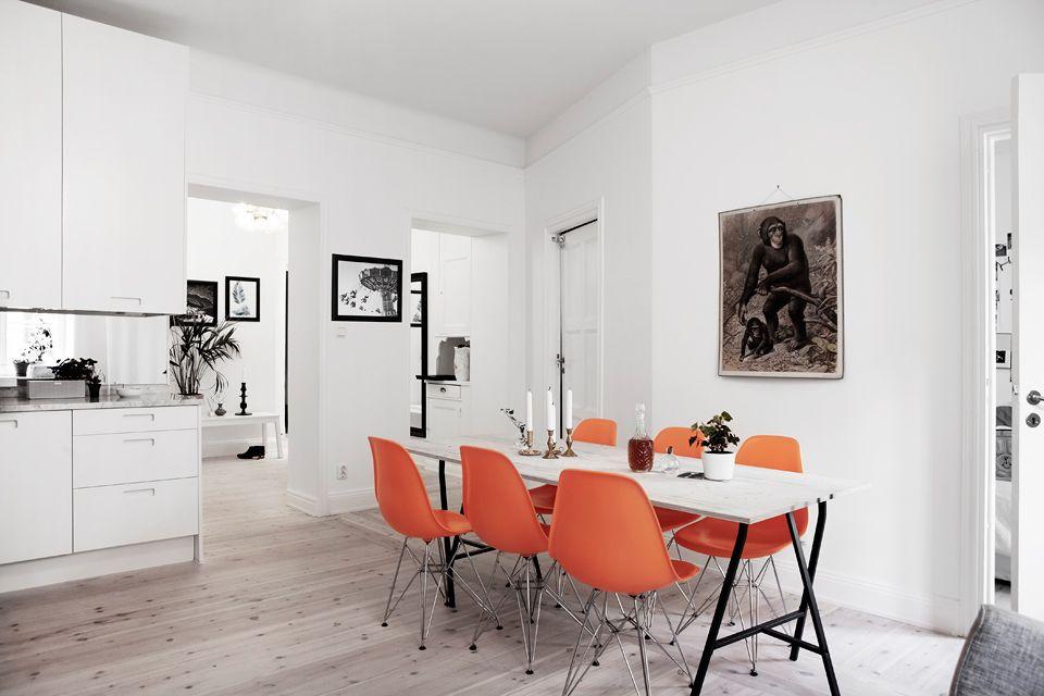 Apartment in Stockholm.