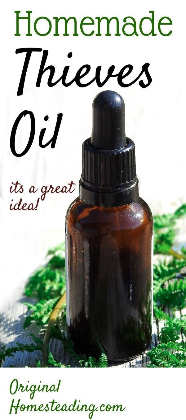 Photo of If you want to make your own essential oil blend from Thieves Oil …