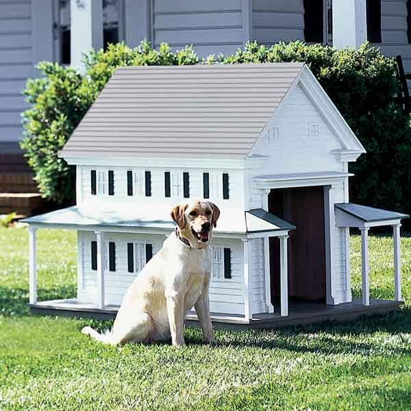 16 Doghouses Like Your House Dog Houses Dog Life Play Houses