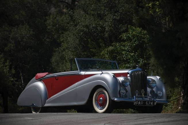 Pictures and Wallpapers of 1951 Bentley Mark VI Drophead Coupe by Park Ward