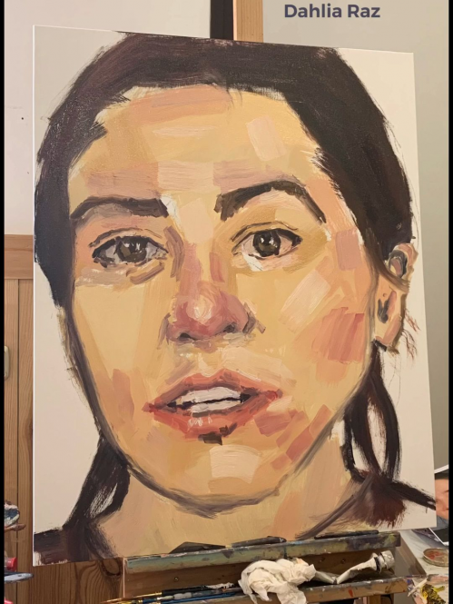 By Dahlia Raz  #oilpainting #ellysmallwood #painting #drawingtechniques #drawing #techniques #videos