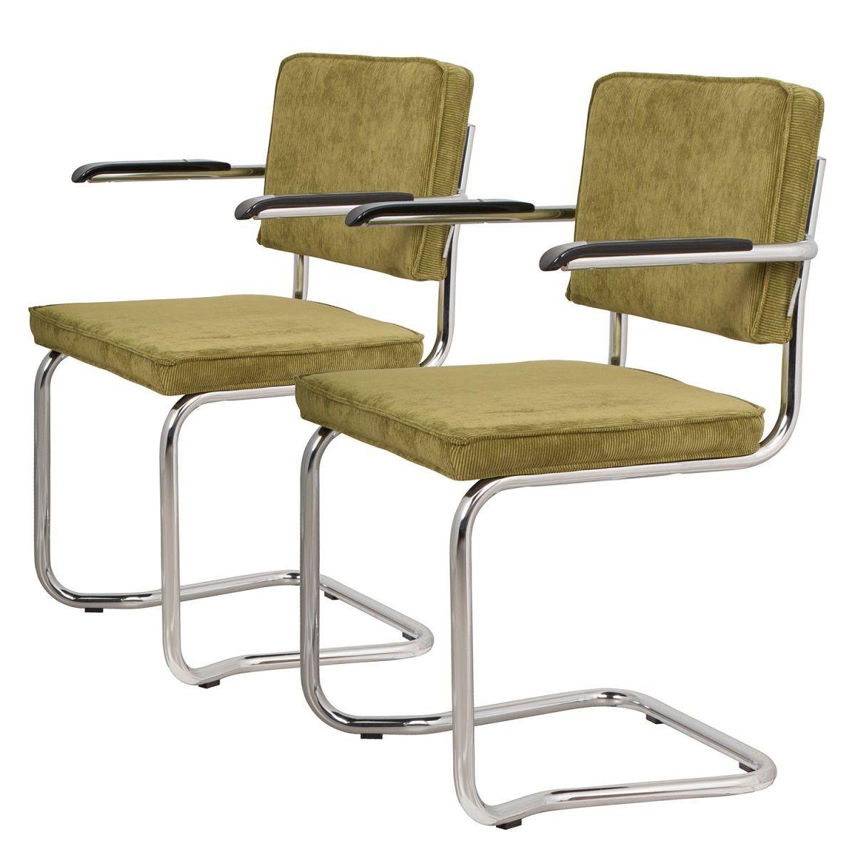 freischwinger ridge kink ii 2er set cord pistaziengr n jetzt bestellen unter https. Black Bedroom Furniture Sets. Home Design Ideas