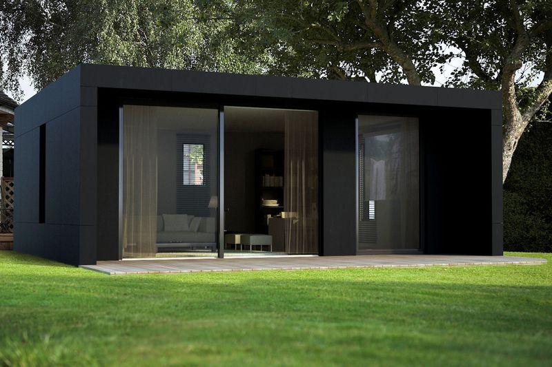 Une Cabane D Architecte Comme Solution D Extension