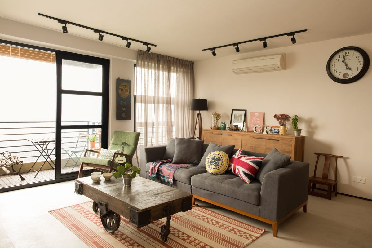 Industrial Chic Hong Kong Apartment Wylie Court by Chinc