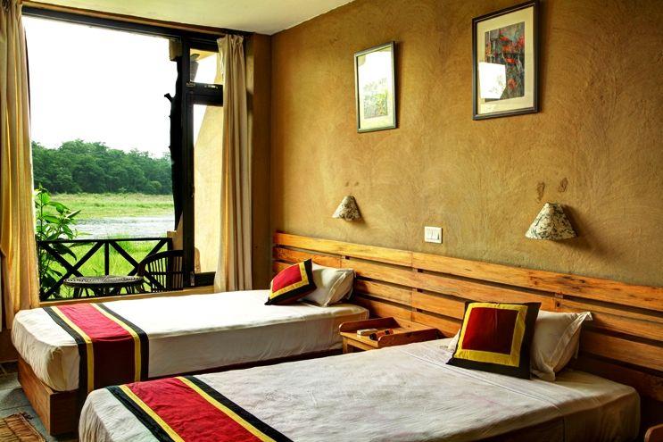 Jungle Villa Resort Chitwan Home Decor Resort Villa Outdoor Bed