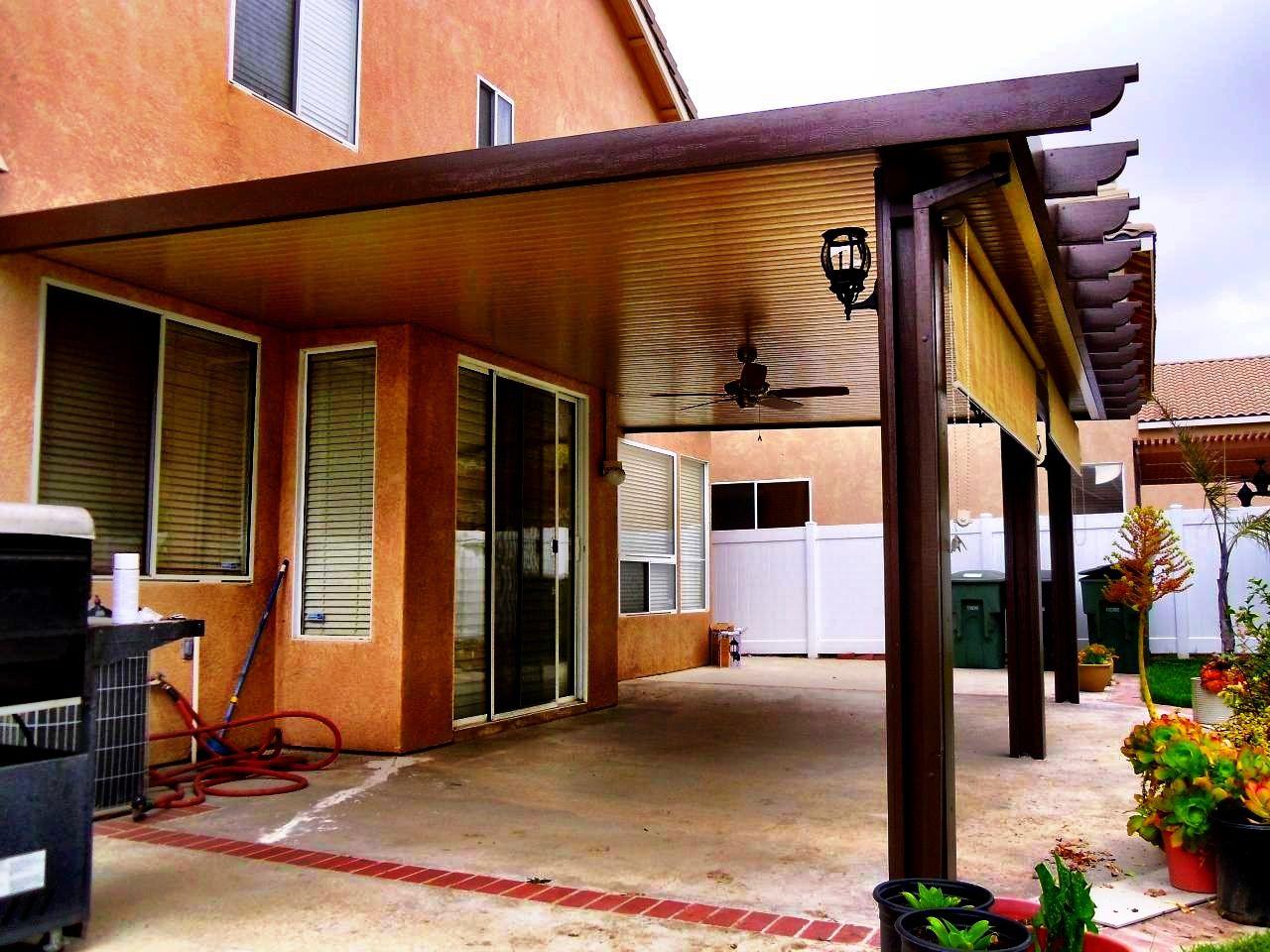 solid alumawood patio cover corona