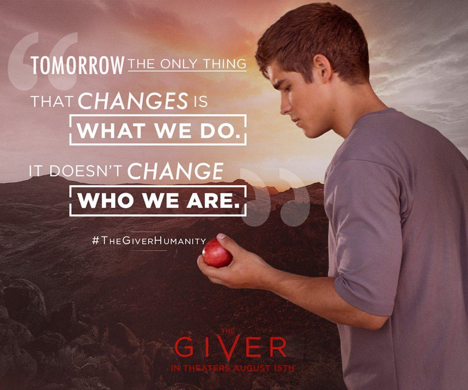 The Giver Book Quotes The Giver  Movies  Pinterest  Movie Books And Tvs