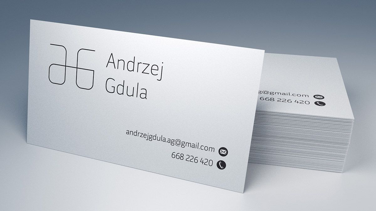 Free business card mockup / 90×50 mm | mockups-design.com ...