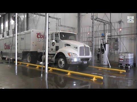 Hydro Chem Systems Automated Truck Wash System Cleaning A Coors Light Truck Truck Washing Wash Car At Home Trucks