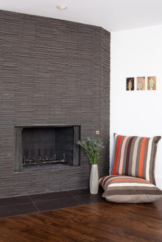 The Stunning Fireplace Is Tucked Into A Corner Between The Joint