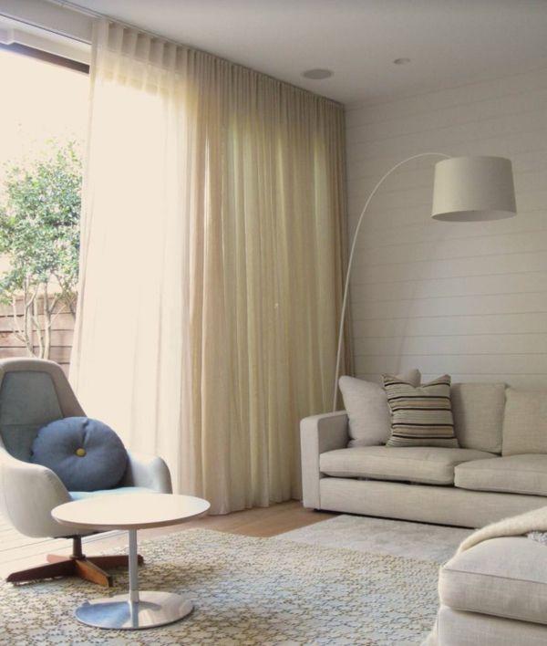 moderne vorh nge bringen das gewisse etwas in ihren wohnraum pinterest vorh nge wohnzimmer. Black Bedroom Furniture Sets. Home Design Ideas