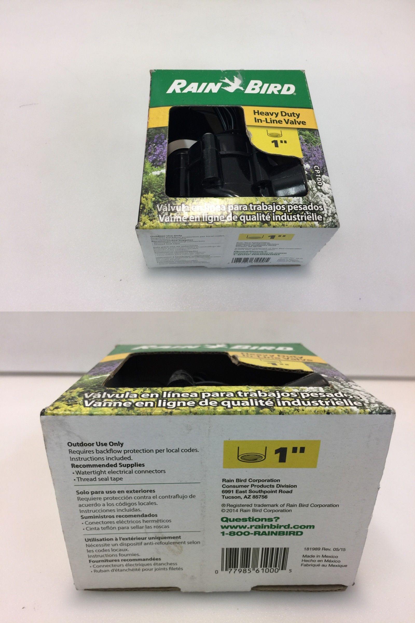 Valves 75673: Rain Bird Cp-100 1-In Plastic Electric Inline