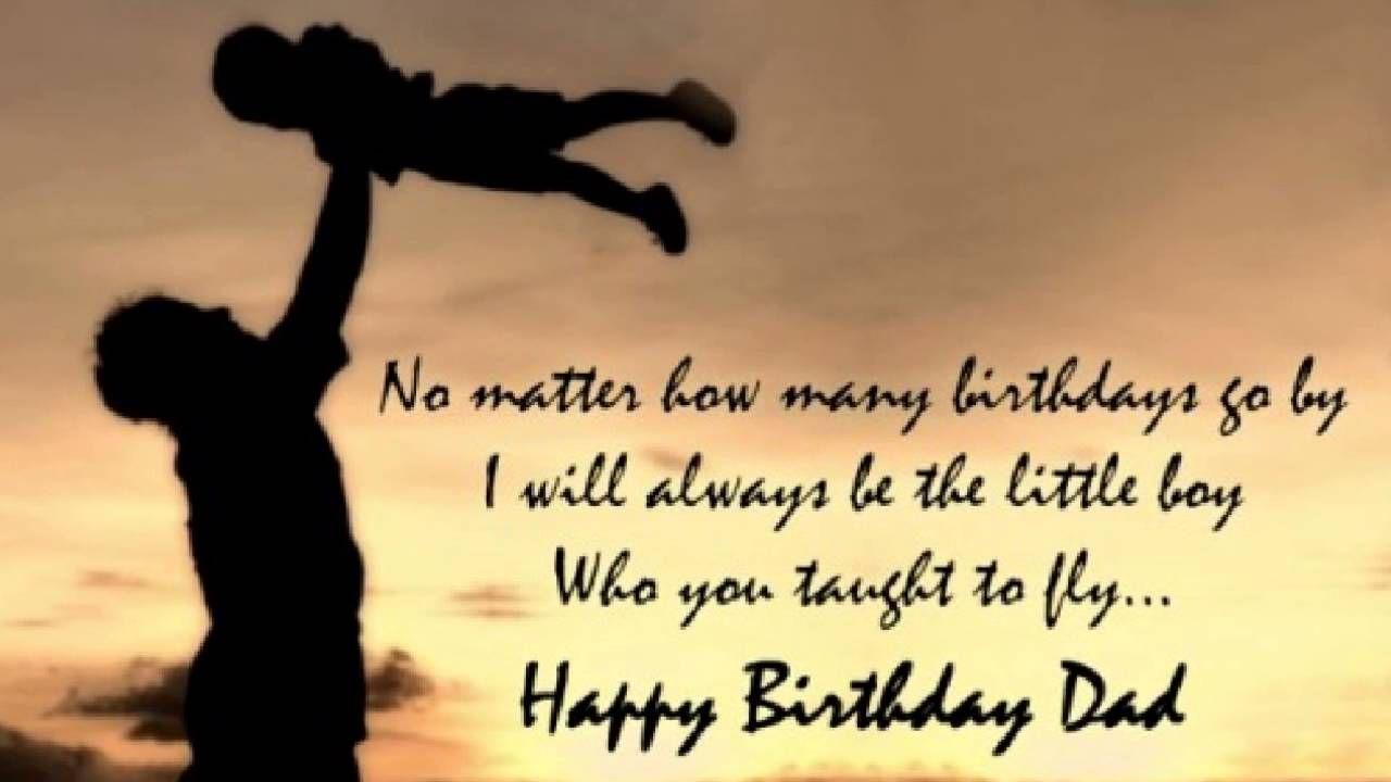 Happy Birthday Dad Wishes Quotes Happy Birthday Pinterest