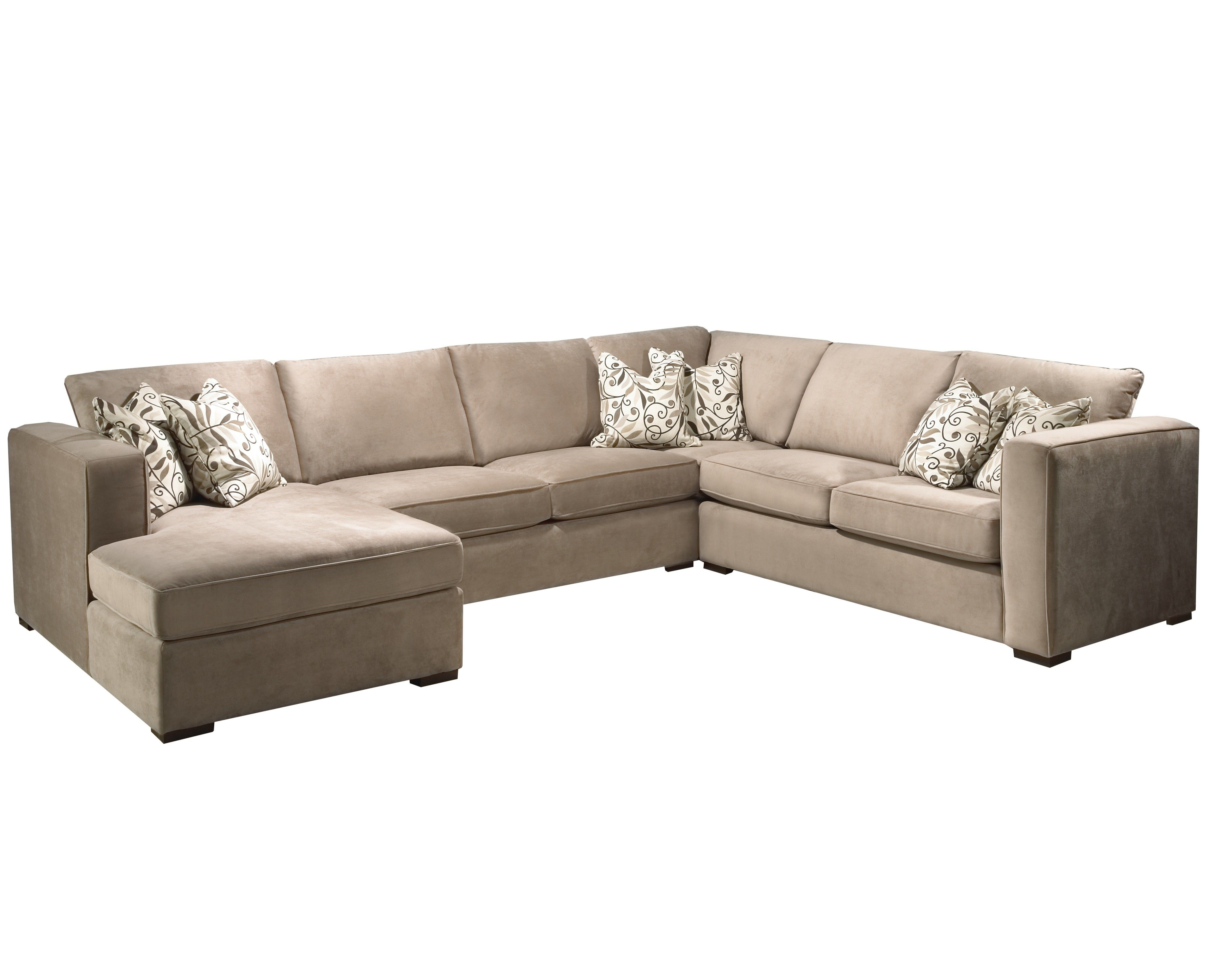 Modern Light Brown Microfiber Sectional With Chaise Brown Microfiber Sectional Microfiber Sectional Microfiber Sectional Sofa