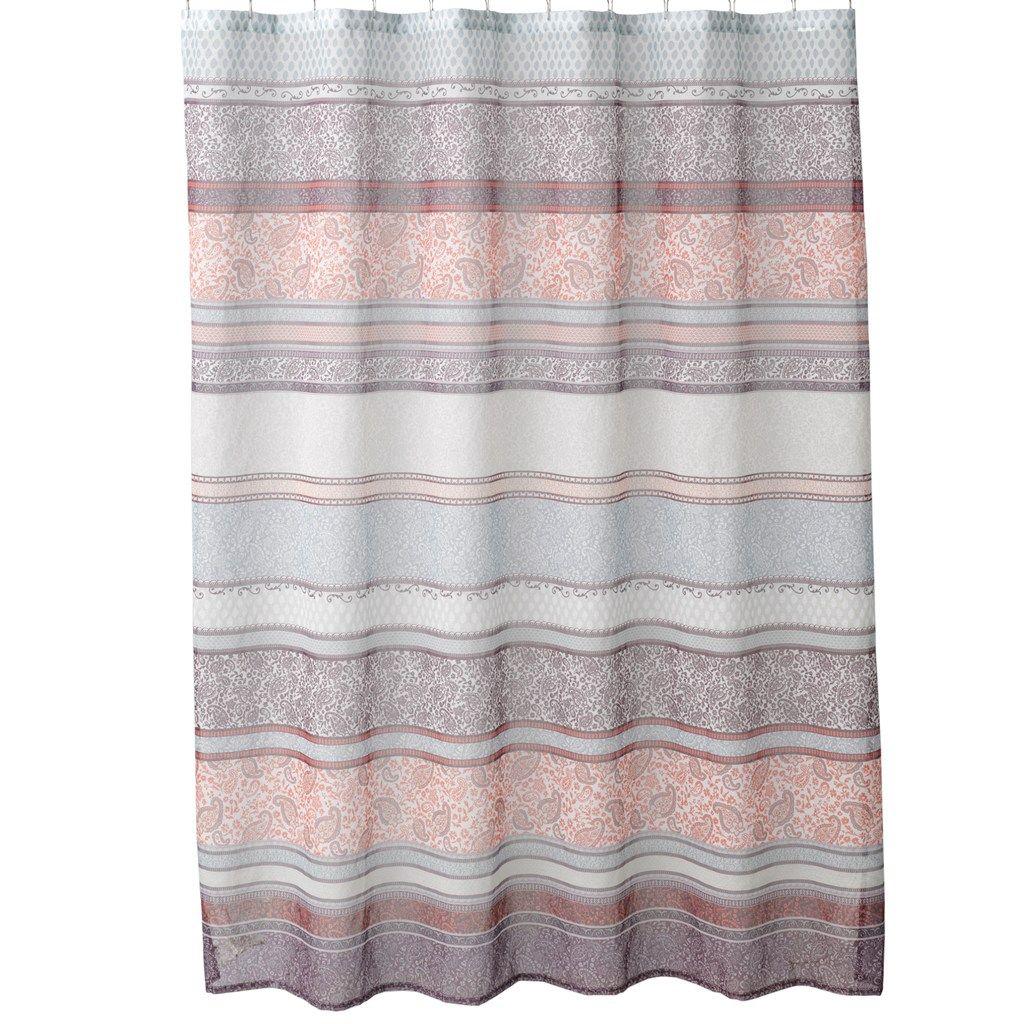 Home Classics Meduri Paisley Fabric Shower Curtain Fabric