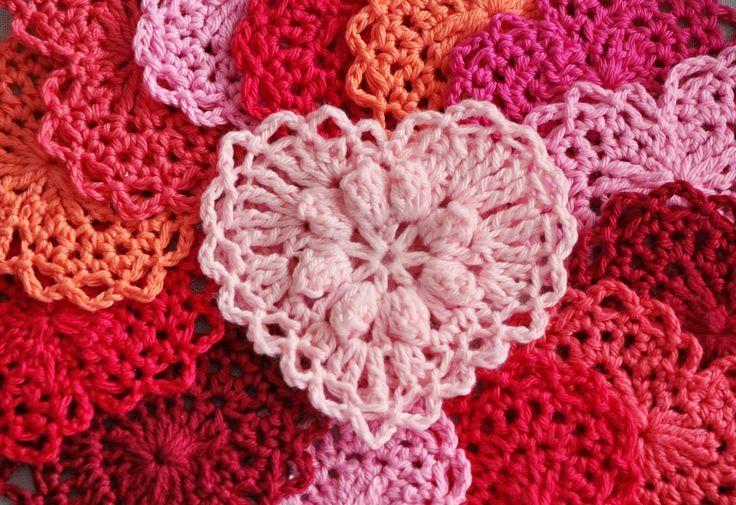 Crocheted heart crochet heart crochet valentine s heart crochet
