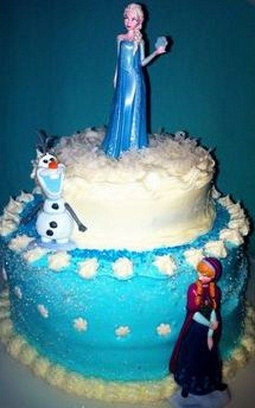 Frozen Birthday Cake Recipe with Pictures Frozen Birthday Cake