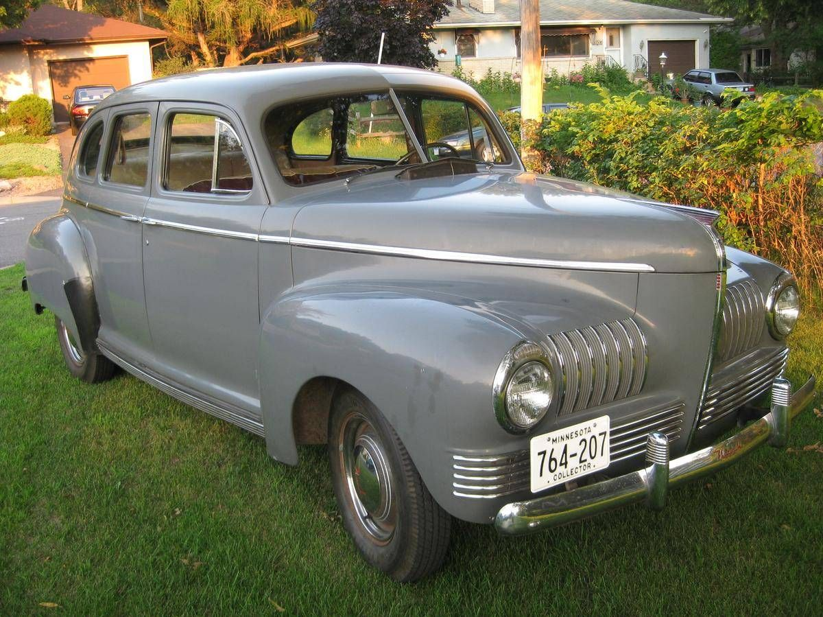 1941 Nash 600 Four Door Sedan Maintenance/restoration of old/vintage ...