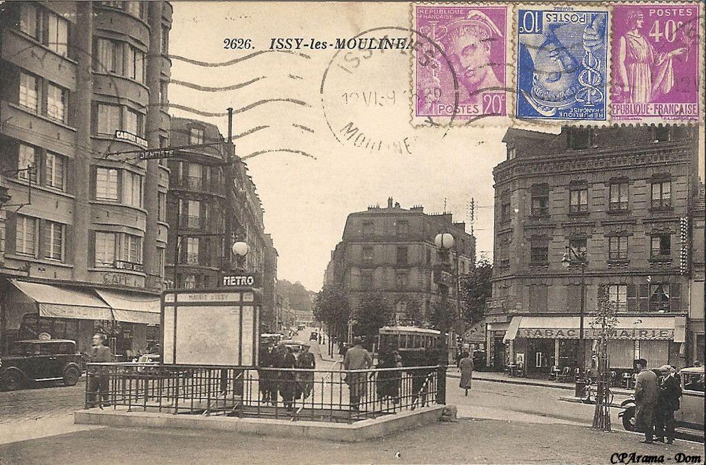 Paris faubourg du Temple mairie d\'Issy metro - Google Search ...