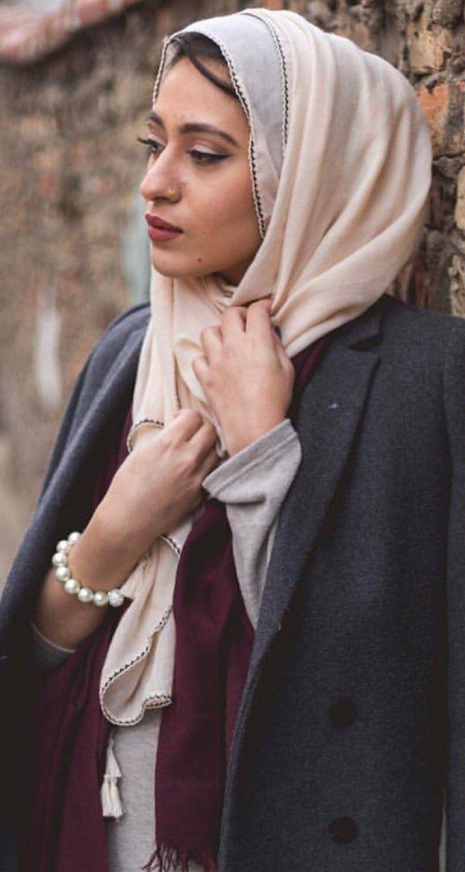 Earth Nude Hijab - Pearl Daisy