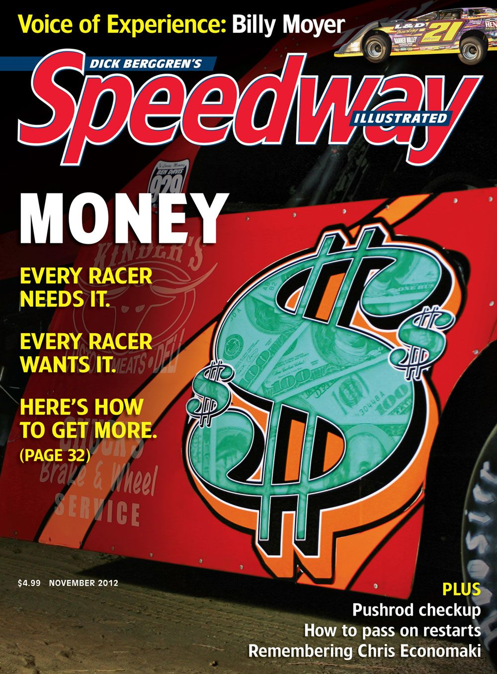 Nov 2012 The Money Shot Checkup Money Shot Cover