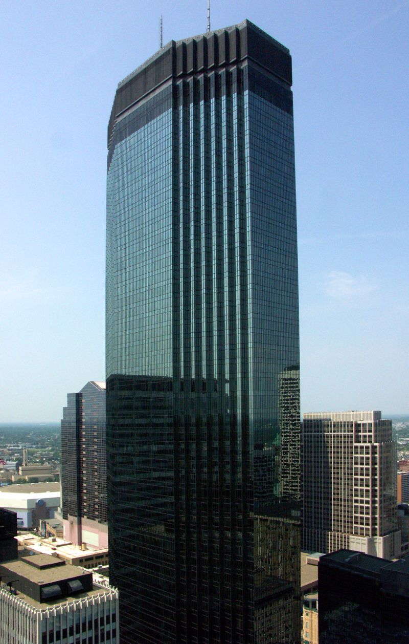 Ids Tower Minneapolis Mn 792ft Tallest Building In Minneapolis