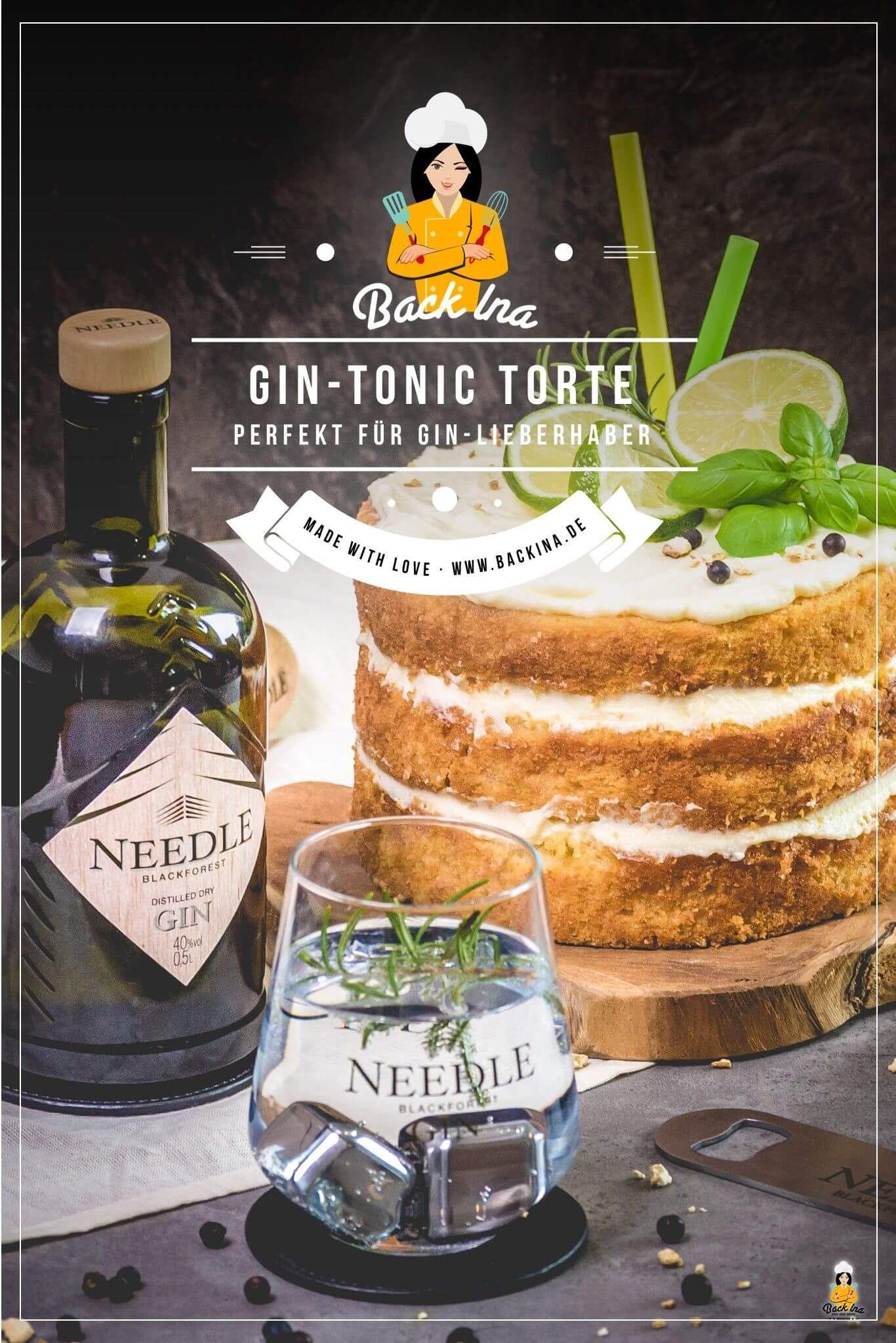 Gin Tonic Torte Rezept Geburtstagstorte Gin Tonic Rezept Und Torten Rezepte
