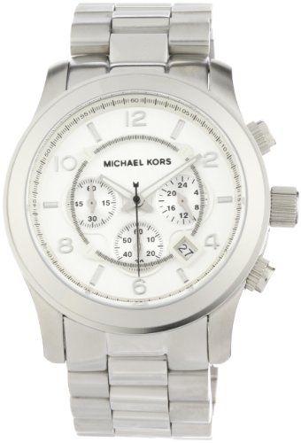 f24d036edabb Michael Kors Men s MK8086 Runway Silver-Tone Watch Michael Kors