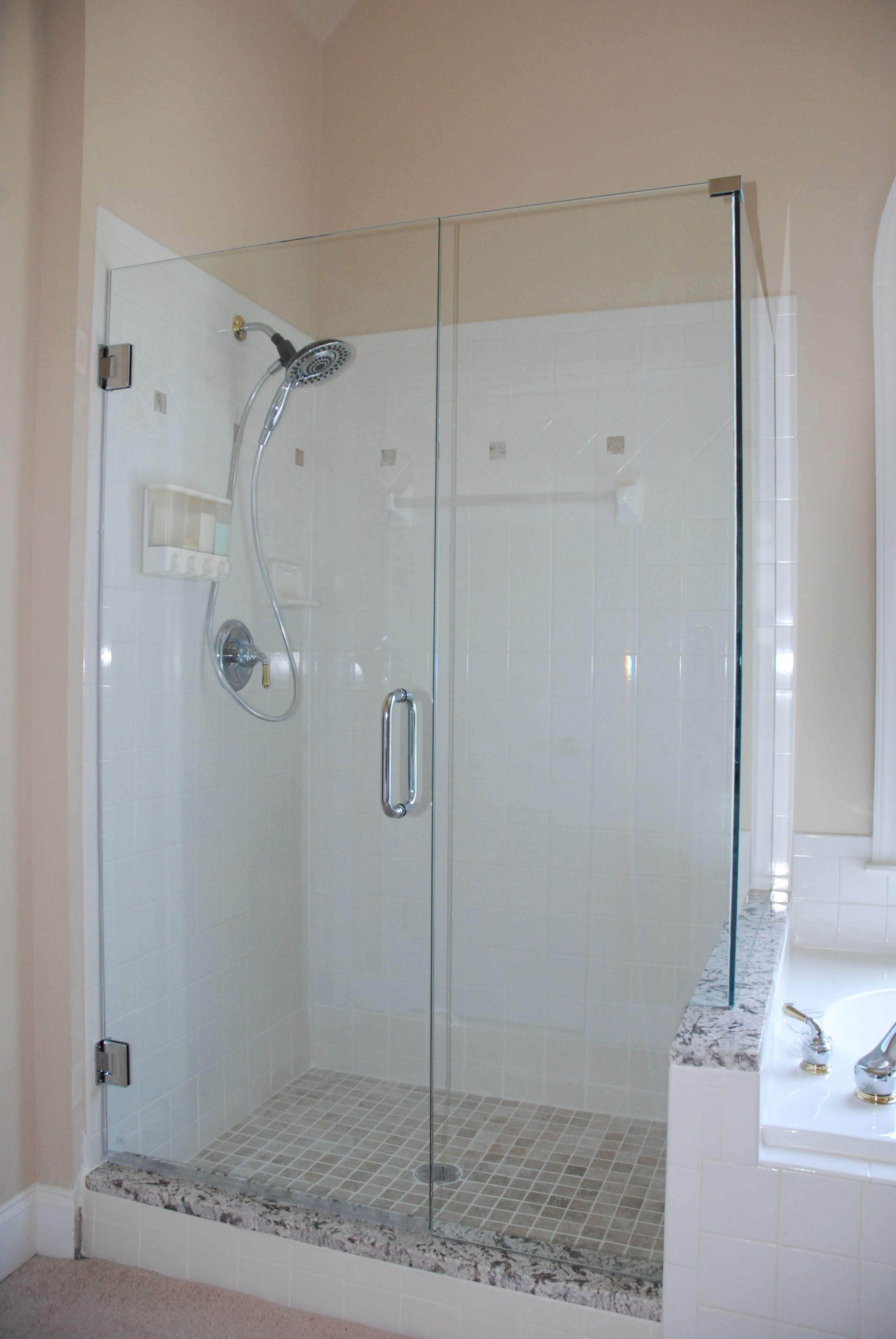 Exciting Frameless Glass Shower Doors Design For Modern Bathroom