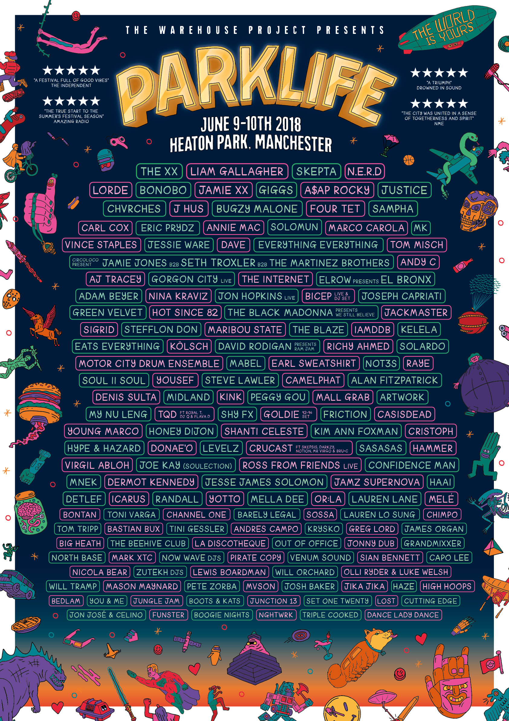 Image result for park life music festival 2018