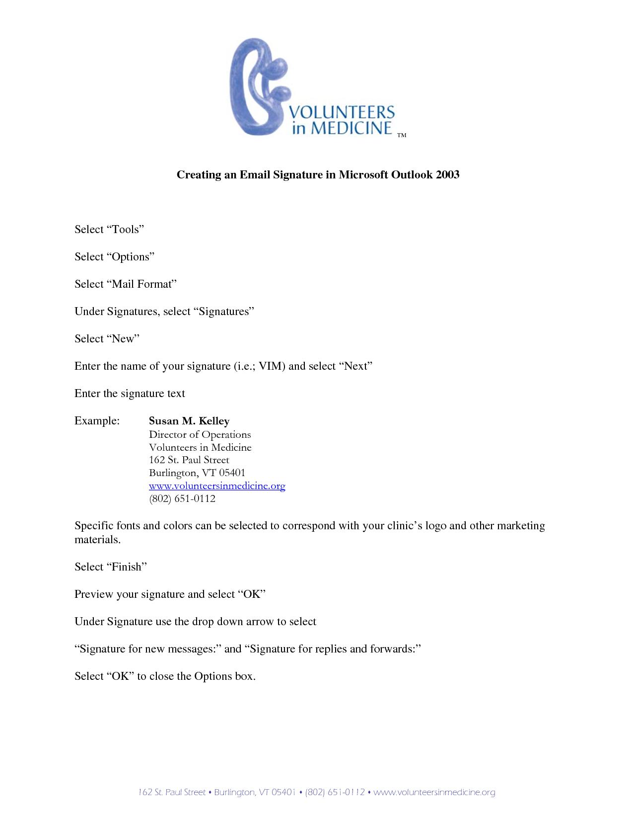 Microsoft Outlook Email Signature Take our FREE Mini