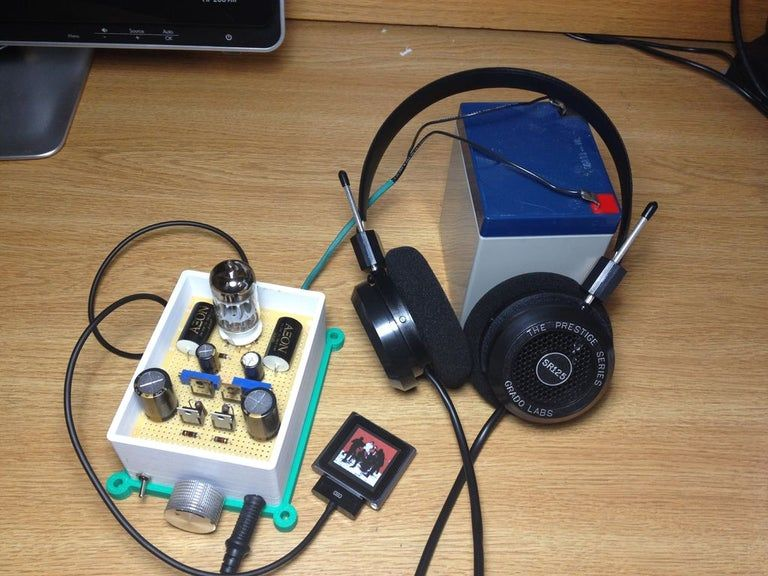 Diy Hi Fi Class A Hybrid Headphone Amp 6 Steps With Pictures Headphone Amp Headphone Diy Amplifier