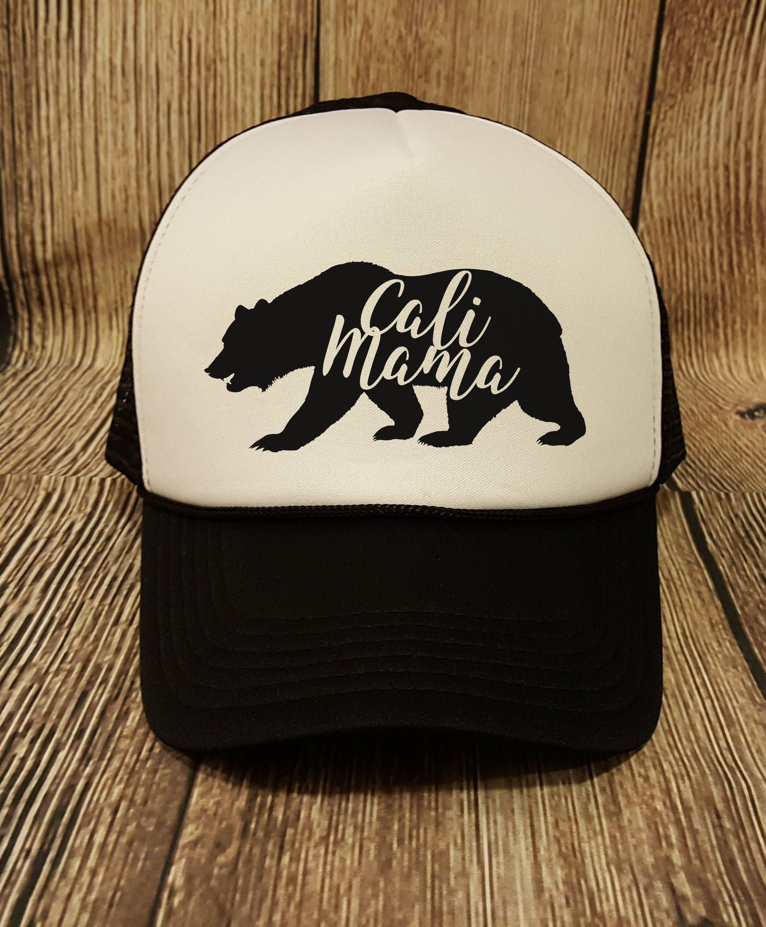 e607a4c32cc9a Mama Bear Trucker Hat