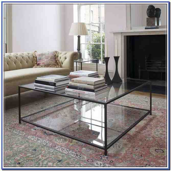 Square Glass Coffee Table Uk