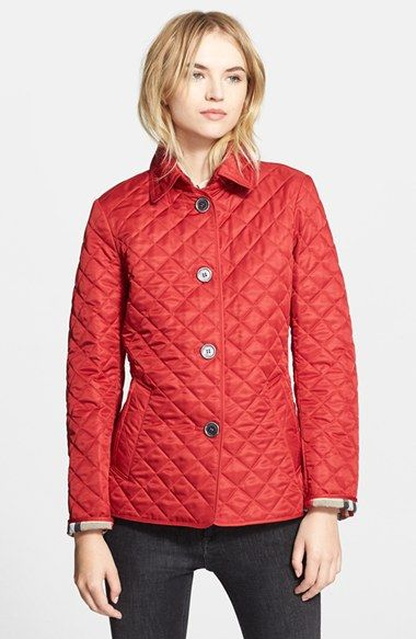 Burberry Brit 'Copford' Quilted Jacket available at #Nordstrom ... : copford quilted jacket - Adamdwight.com