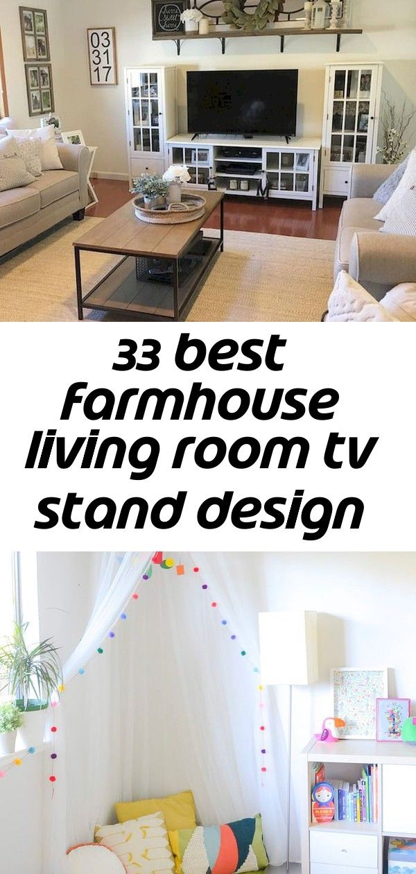 33 best farmhouse living room tv stand design ideas 1 Create the perfect reading corner for your child with 6 simple steps   - Kinderzimmer Ideen - Decor ideas for living room with fireplace tv walls 46+ Trendy Ideas Northridge Remodel: The Kitchen + Dining Nook