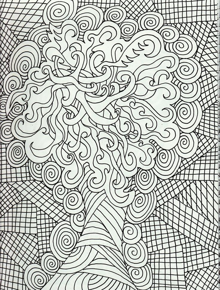 Coloring Pages For Adults Free Large Images Mandala